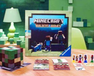 Minecraft: Builders & Biomes กลับมาอีกครั้งในรูปแบบบอร์ดเกม